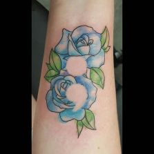 semicolon rose